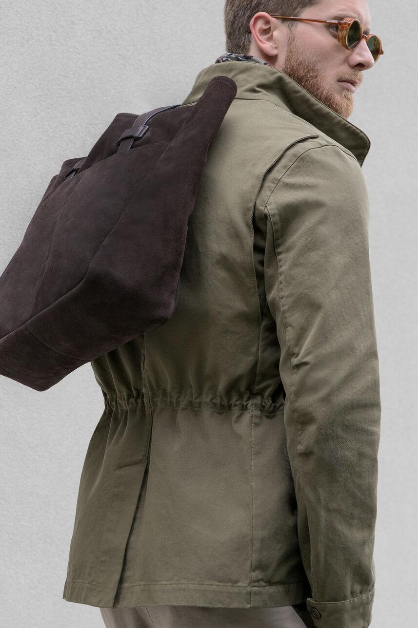 Streetwear in a military key