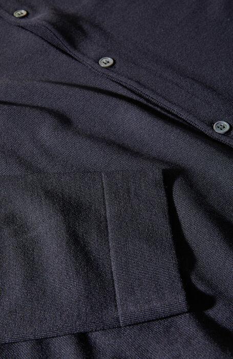 Shirt in blue Flexwool , ZANONE Flexwool | Slowear