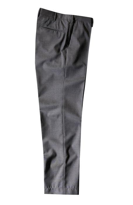 Grey tropical wool slim fit trousers , Incotex - Venezia 1951 | Slowear