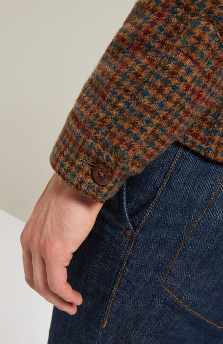 Shetland wool blouse with lined sleeves , Montedoro | Slowear