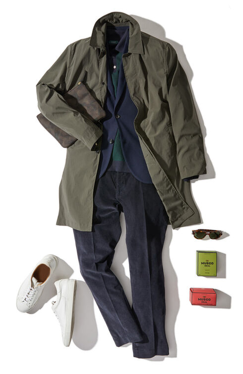 Slim fit cotton jacket , Montedoro   Slowear