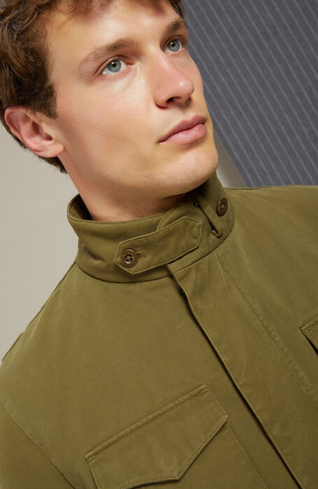 Field jacket with removable padding , Montedoro | Slowear