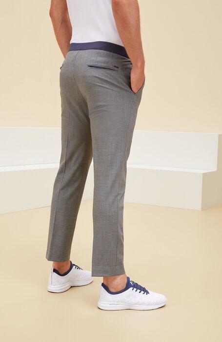 Slim Fit Techno Wool Trousers , Urban Traveler   Slowear