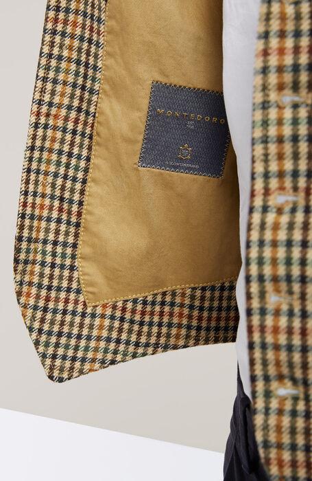 Prince of Wales Wool Vest , Montedoro   Slowear