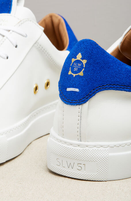 Leather and Suede Sneakers , Officina Slowear | Slowear
