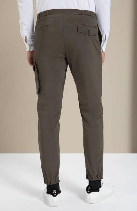 Pantalone cargo packable in tessuto tecnico verde , Incotex - Urban Traveller   Slowear