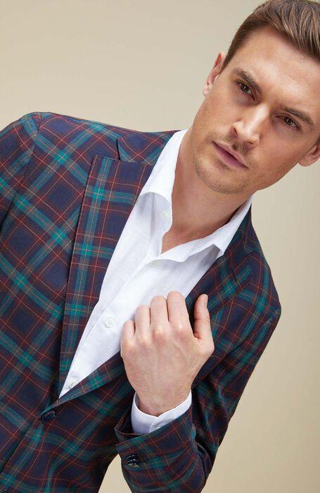 Single-breasted unlined dry wool jacket , Montedoro | Slowear