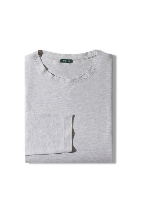 Short-sleeved IceCotton fil-a-fil T-shirt , Zanone | Slowear