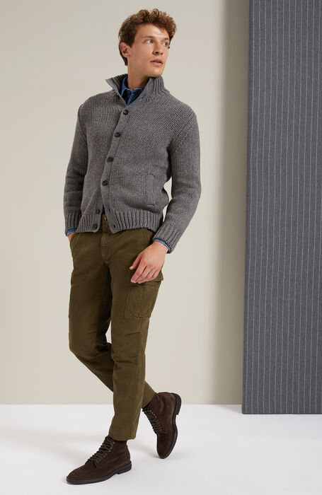 Classic Indigo Twill regular-fit collar shirt , Glanshirt | Slowear