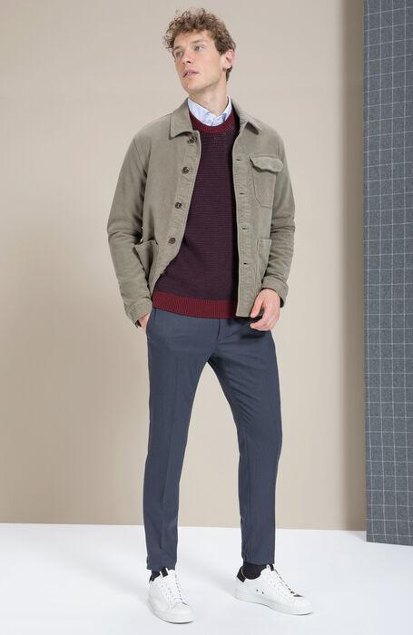 Slim-fit Techno Wool trousers , Incotex - Urban Traveller | Slowear
