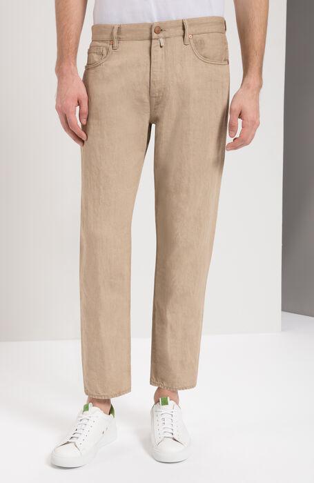 9fa0295d15733a Slim Fit Cotton/Linen Trousers , Incotex - Cinque Tasche | Slowear ...