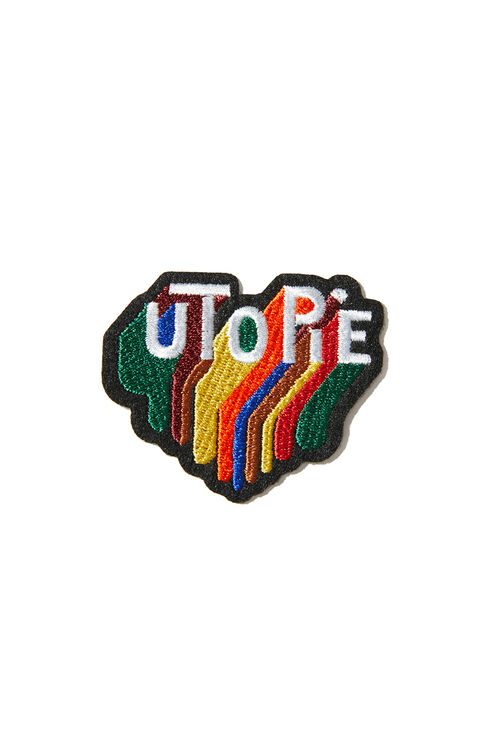 Utopia thermoadhesive embroidered patch , Macon&Lesquoy   Slowear
