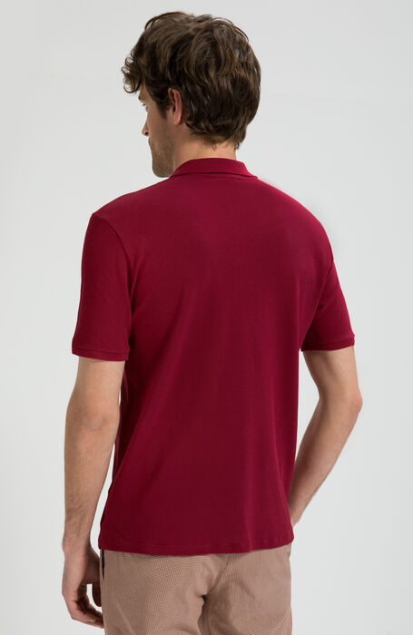 Coste Garment-Dyed IceCotton Pique Polo , Zanone | Slowear