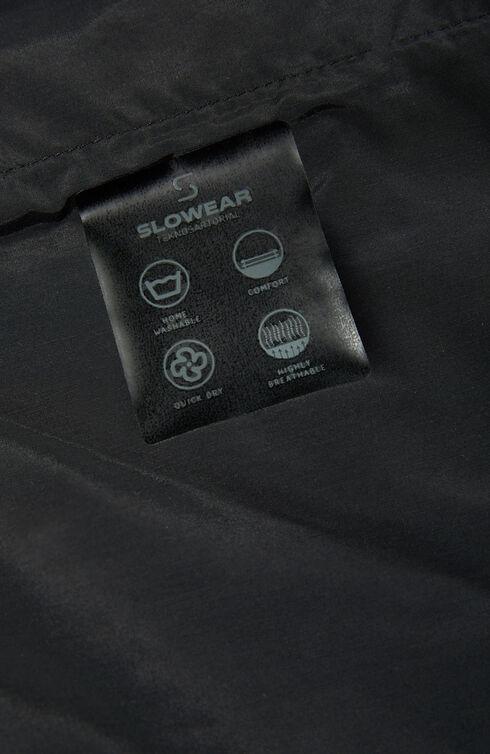 Slim-fit Tekno Gab trousers with back waist elastic , Slowear Teknosartorial | Slowear