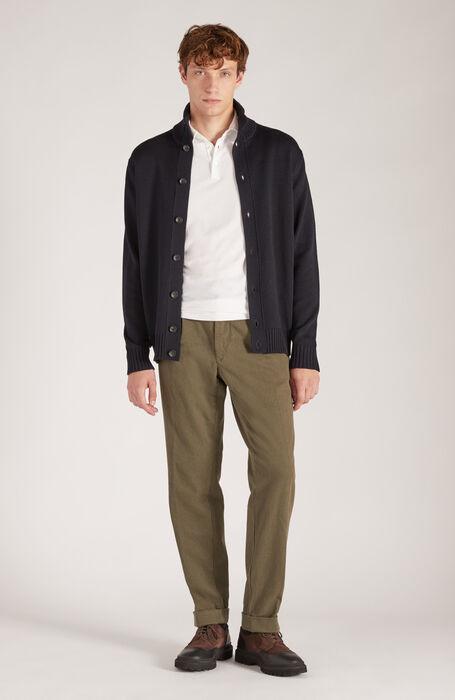 "Short-sleeved polo shirt in Zanone ""IceCotton"" , Zanone   Slowear"