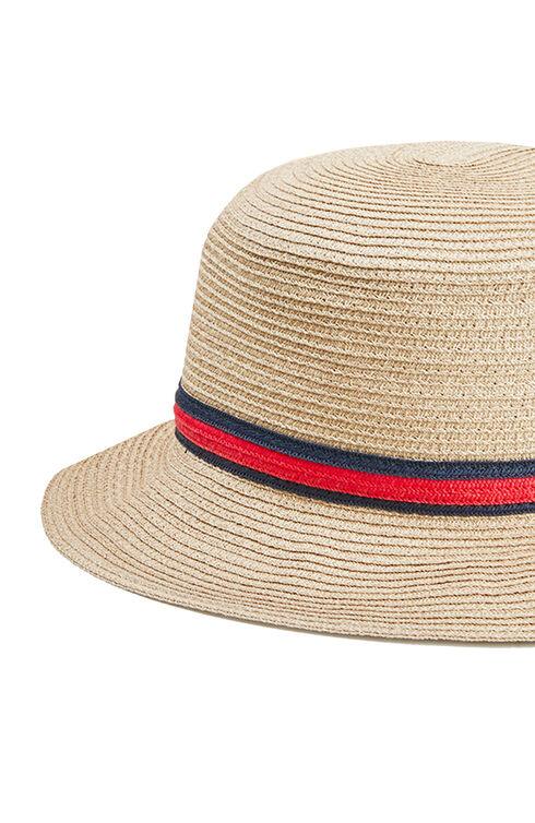 Bucket hat in beige cotton , Cableami | Slowear