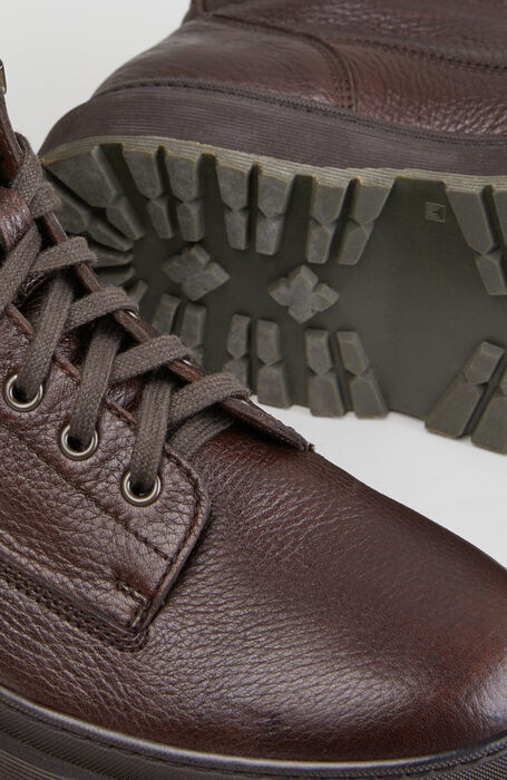 Boots in deer leather and suede detail , Officina Slowear | Slowear