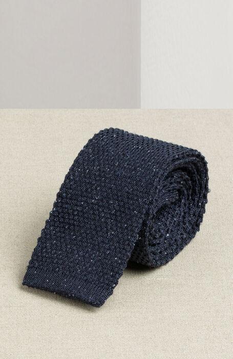 Square stitch silk knit tie , Officina Slowear | Slowear
