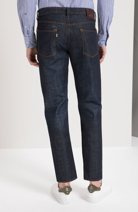 Slim Fit Stretch Denim Trousers , Incotex - Cinque Tasche | Slowear