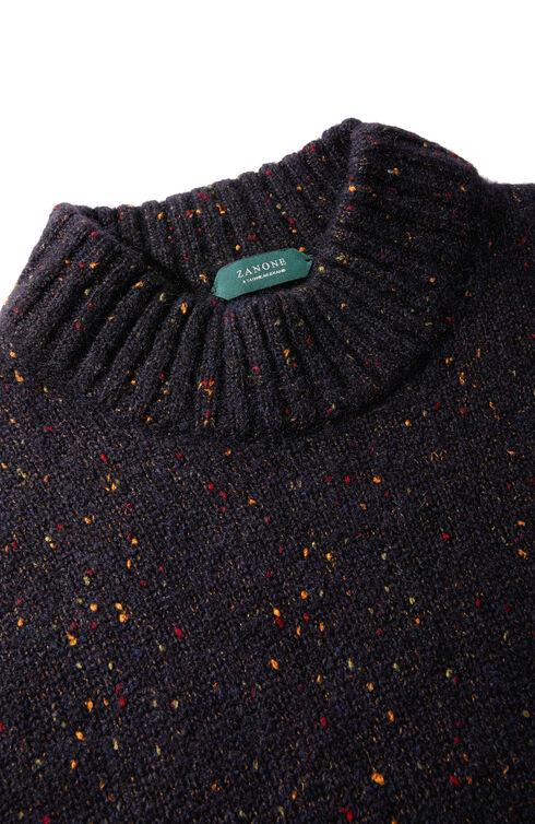 Alpaca wool mock turtleneck sweater , Zanone   Slowear