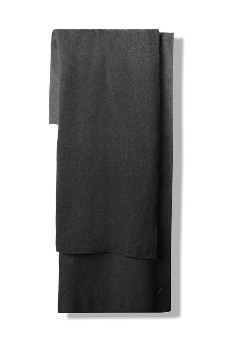 Grey lambswool degradé effect scarf , Zanone | Slowear