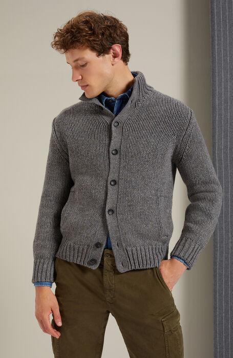Merino wool and Yak Chioto cardigan , Zanone | Slowear