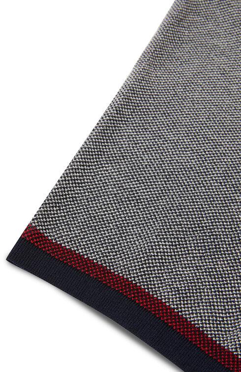 Short-sleeve slim-fit pique cotton crêpe polo shirt , Zanone | Slowear