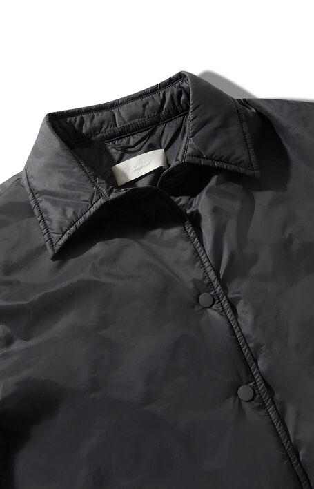 Superlight water-repellent nylon jacket with light black padding , Montedoro | Slowear