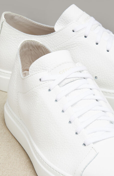 Sneakers in Pelle di Vitello Martellata , Officina Slowear | Slowear