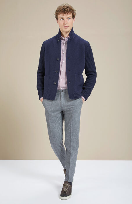 Cashmere wool navy jacket , Zanone | Slowear