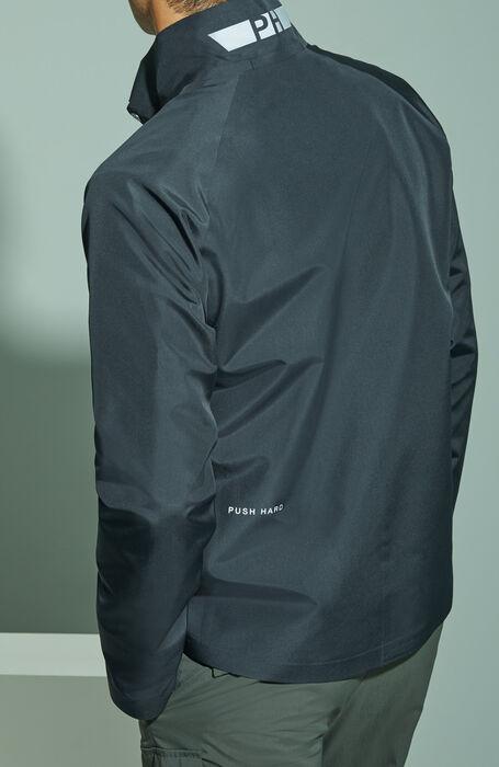 Giubbino in tessuto tecnico impermeabile nero , PH Apparel | Slowear