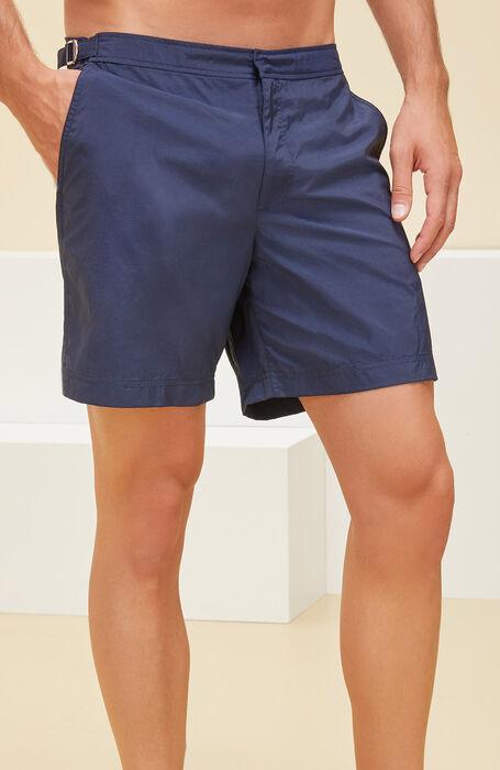 Swimsuit in technical fabric dark blue , Incotex Mare   Slowear
