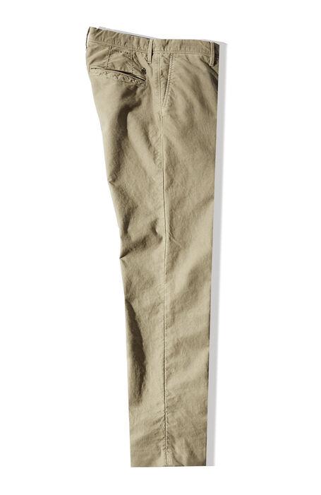 Pantalone slim fit in tricochino stretch beige , Incotex - Slacks   Slowear