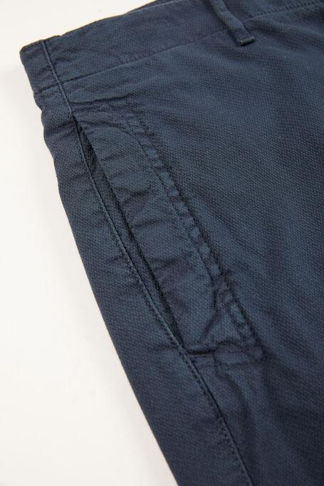 Blue tapered-fit stretch cotton trousers , Incotex - Slacks | Slowear