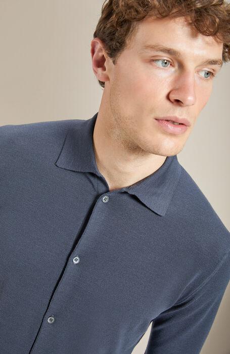 "Grey ""Flexwool"" shirt , Zanone | Slowear"