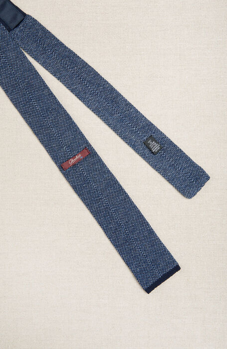 Square stitch cotton knit tie , Officina Slowear | Slowear