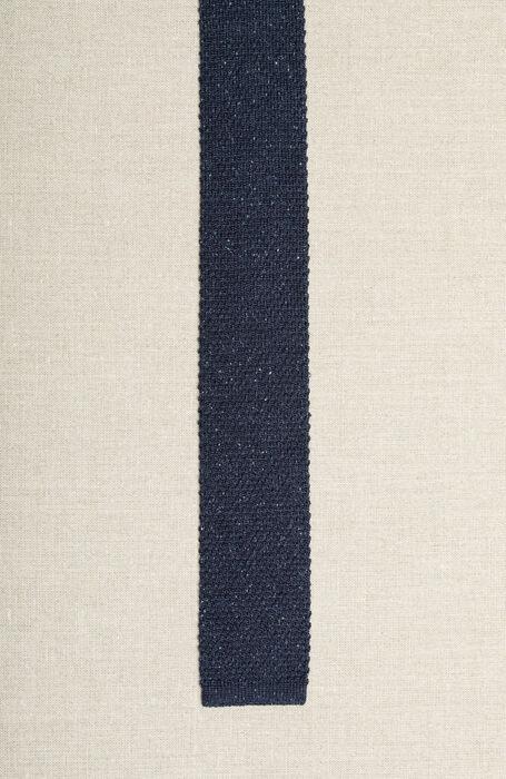 Cravatta in maglia di seta a punta quadrata , Officina Slowear | Slowear