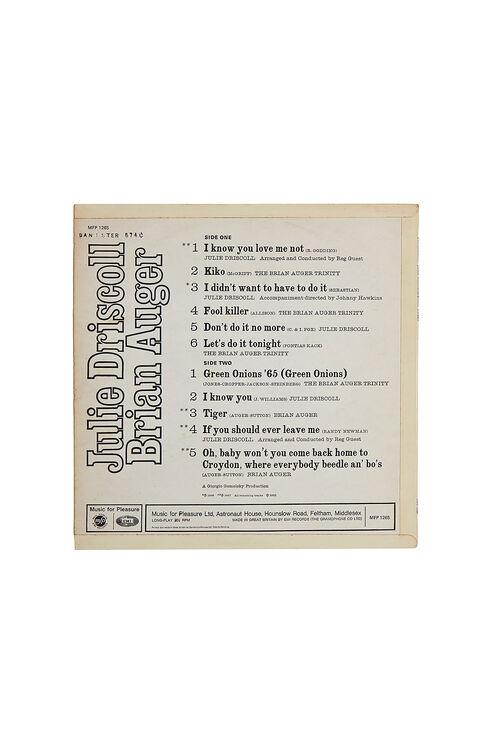 Vinyl - JOOLS & BRIAN - AUGER BRIAN , Emporio Slowear   Slowear