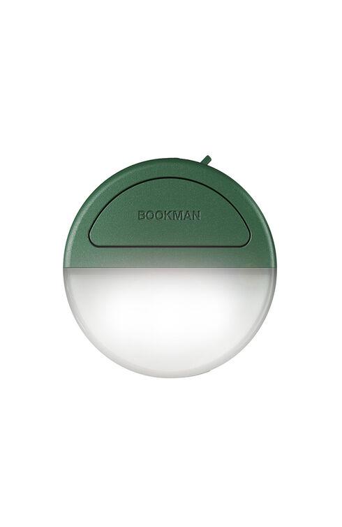 Green rechargeable wearable clip light , Bookman   Slowear