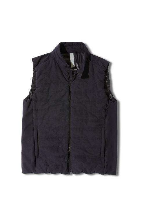 Padded vest in water repellent Tech Mesh fabric , Slowear Teknosartorial | Slowear