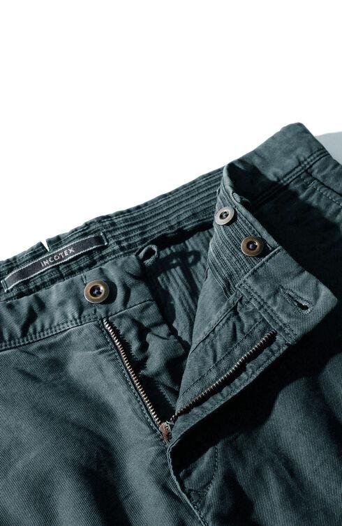 Slim fit stretch Tricochino trousers , Incotex - Slacks | Slowear