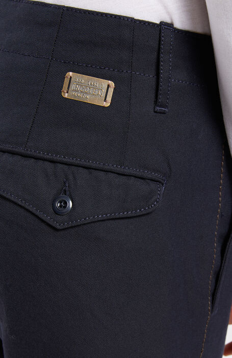 Slim-fit Chinolana trousers , Incotex - Slacks | Slowear