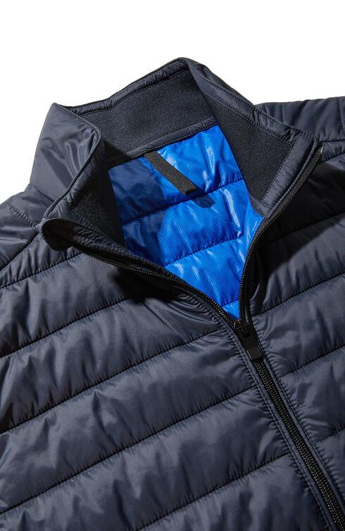 Padded vest covered in technical fabric , Urban Traveler | Slowear