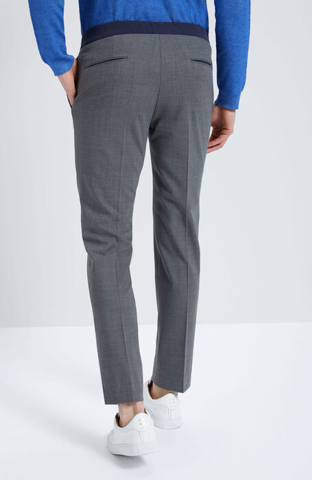 Slim Fit Techno Wool Trousers , Incotex - Venezia 1951 | Slowear