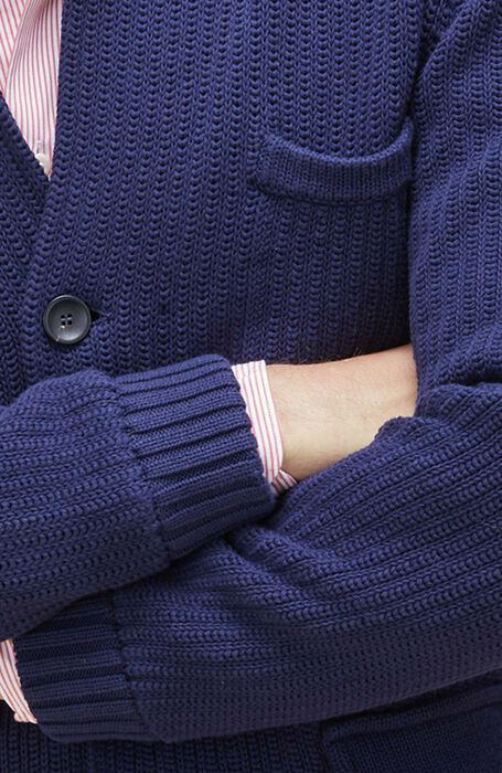 Blazer in Cotton Crépe , Zanone | Slowear