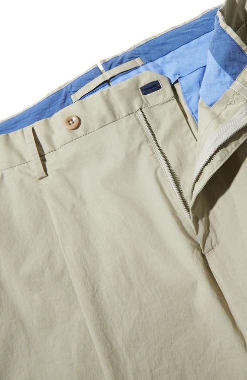Stretch cotton poplin slim-fit trousers , Incotex - Venezia 1951 | Slowear