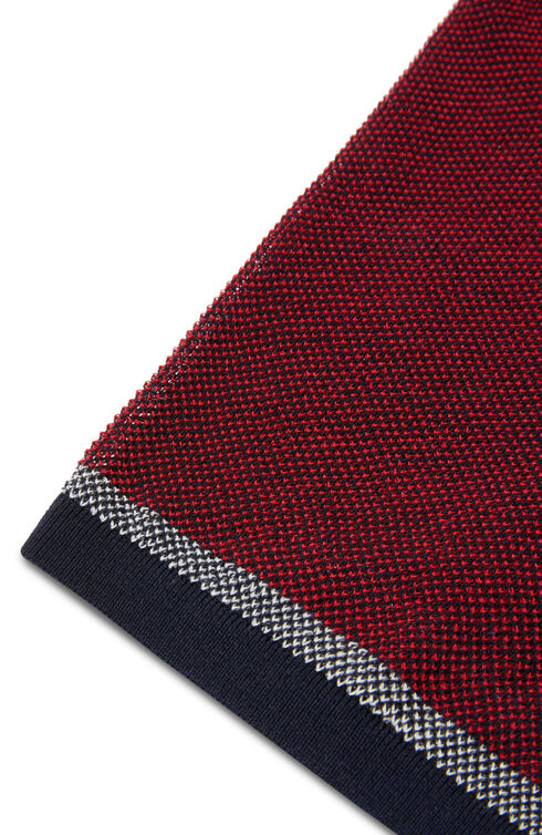 Short-sleeve slim-fit pique cotton crêpe polo shirt , Zanone   Slowear