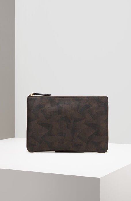 iPad case in military nylon and leather details , Officina Slowear | Slowear