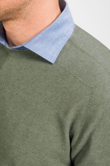 Reversible Crewneck in Cotton, Viscose, Bamboo and Cashmere , Zanone | Slowear