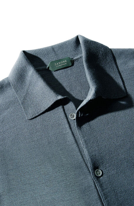 Grey Flexwool shirt , Zanone | Slowear